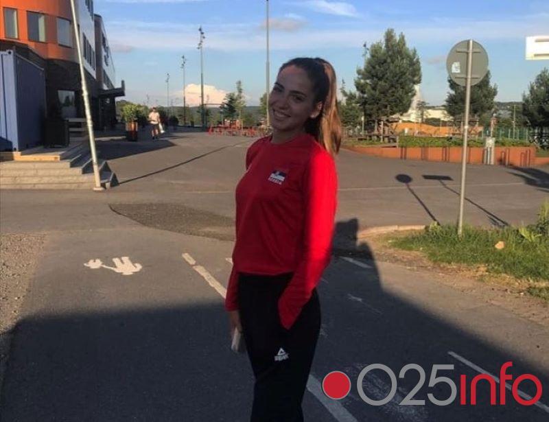 Sanja Maleš u dresu Srbije na Evropskom prvenstvu u Švedskoj